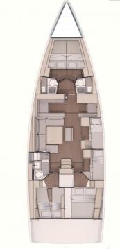 Rental yacht Marina di Portorosa - Dufour Dufour 530 - 6 cab. on SamBoat