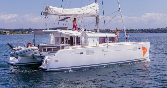 Rental yacht Ionian Islands - Lagoon Lagoon 450 F on SamBoat