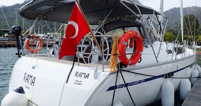 Bavaria Cruiser 46 between personal and professional Göcek