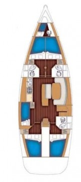 Rental Sailboat in Alimos - Bénéteau Cyclades 50.5