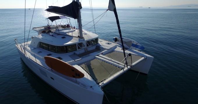 Boat rental Alimos cheap Lagoon 440