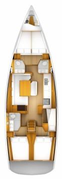 Rental yacht Alimos - Jeanneau Sun Odyssey 509 on SamBoat