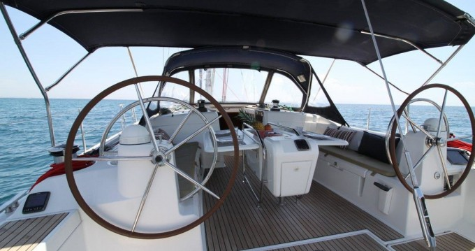 Boat rental Alimos cheap Sun Odyssey 509