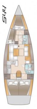 Boat rental Salona Salona 44 in Seget Donji on Samboat