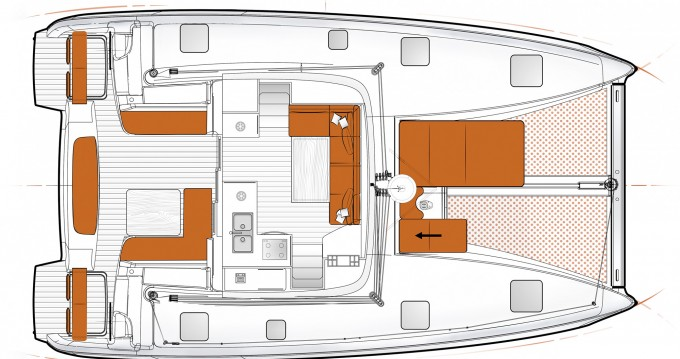 Boat rental Göcek cheap Excess 11