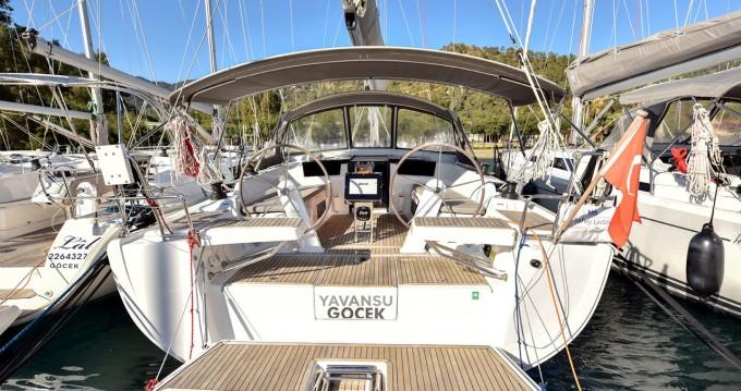 Boat rental Göcek cheap Hanse 418