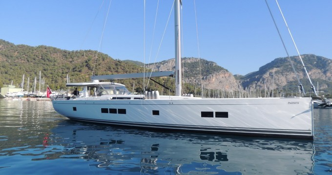 Boat rental Göcek cheap Hanse 675