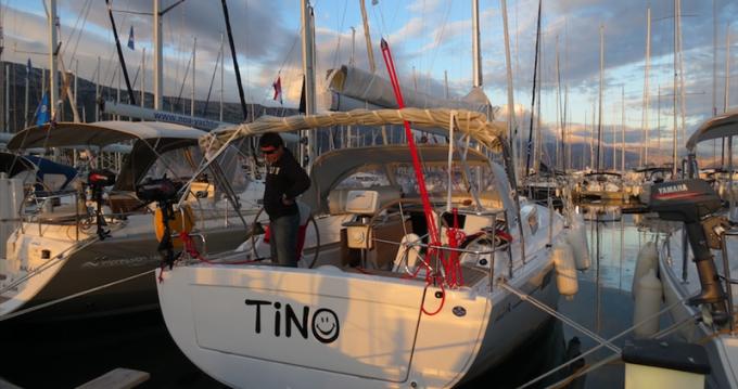 Rental yacht Kaštela - Hanse Hanse 385 on SamBoat