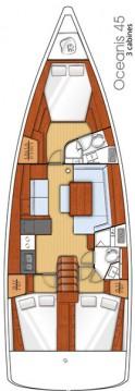 Boat rental Bénéteau Oceanis 45 in Kaštela on Samboat