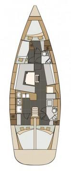 Rental Sailboat in Pirovac - Elan Impression 45