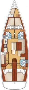 Boat rental Pirovac cheap Oceanis 50 Family - 5 + 1 cab.