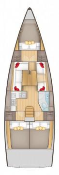 Boat rental Salona Salona 380 in Pirovac on Samboat