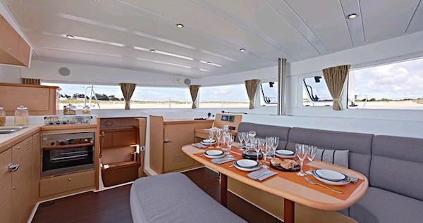 Boat rental Ionian Islands cheap Lagoon 42