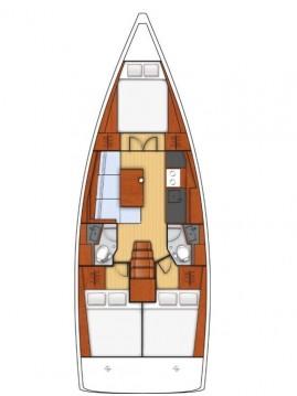 Boat rental Bénéteau Oceanis 38.1 in Ionian Islands on Samboat