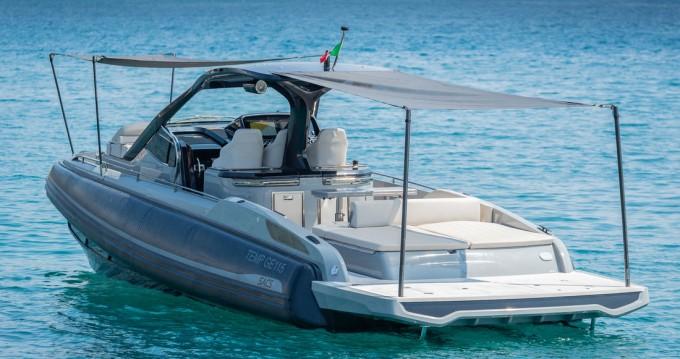 Boat rental Palma de Mallorca cheap Rebel 40