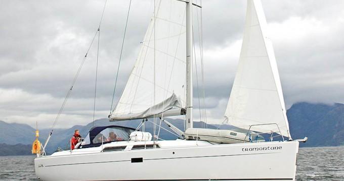 Rental yacht North Ayrshire - Hanse Hanse 400 on SamBoat