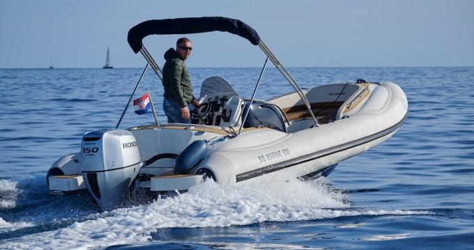 Boat rental Mali Lošinj cheap Ris Marine Exclusive 650