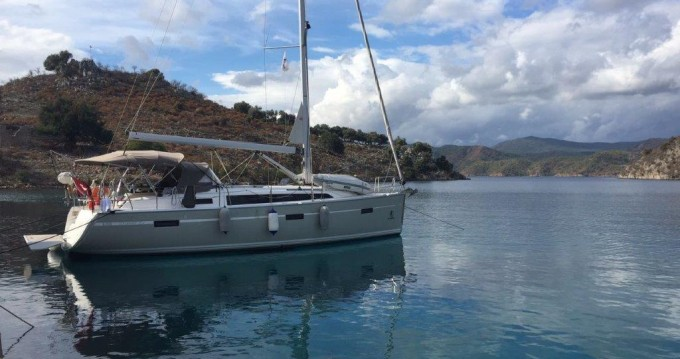 Bavaria Cruiser 37 between personal and professional Fethiye