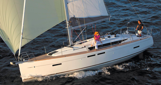 Jeanneau Sun Odyssey 419 between personal and professional Fethiye