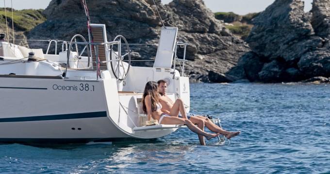 Boat rental Biograd na Moru cheap Oceanis 38.1