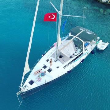 Rental Sailboat in Turkey - Bénéteau Oceanis 48