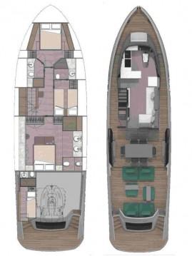Boat rental Kaštela cheap Explorer Fly 62