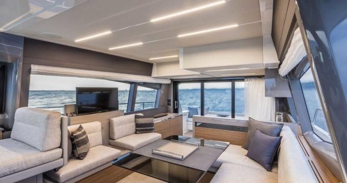 Boat rental Podstrana cheap Ferretti Yachts 450