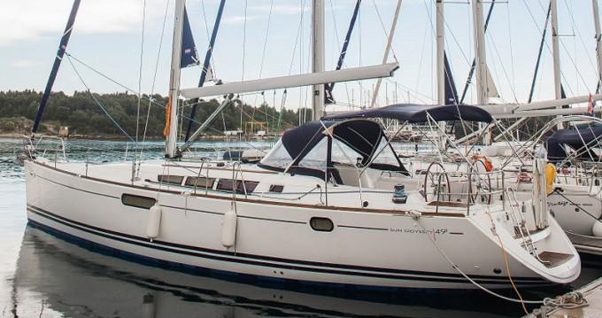 Boat rental Šibenik cheap Sun Odyssey 49i