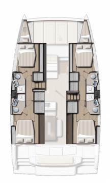 Catana Bali 4.6 - 4 + 2 cab. between personal and professional Fethiye