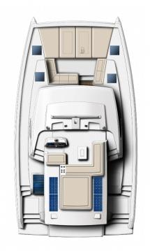 Rental Catamaran in Fethiye - Catana Bali 4.6 - 4 + 2 cab.