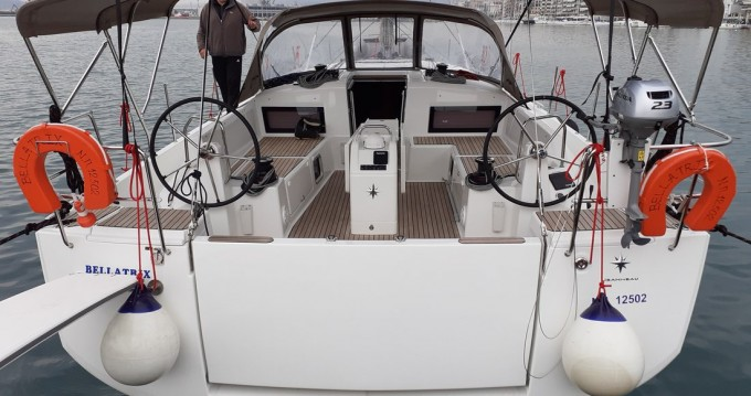 Jeanneau Sun Odyssey 490 between personal and professional Deme of Volos