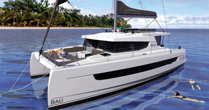 Catana Bali 4.8 - 5 cab. between personal and professional Portisco