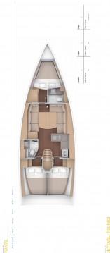 Rental Sailboat in Portisco - Dufour Dufour 390 GL