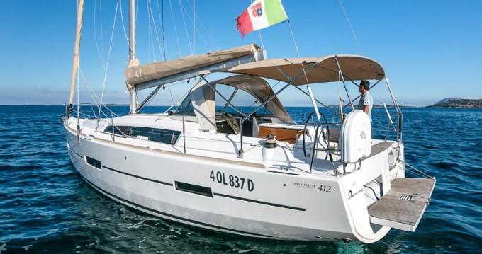 Rental Sailboat in Portisco - Dufour Dufour 412 Grand Large