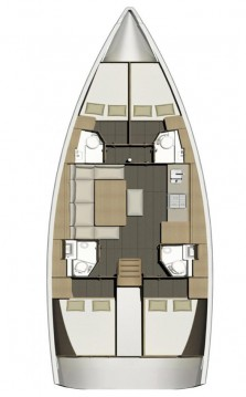 Rental yacht Portisco - Dufour Dufour 460 Grand Large on SamBoat