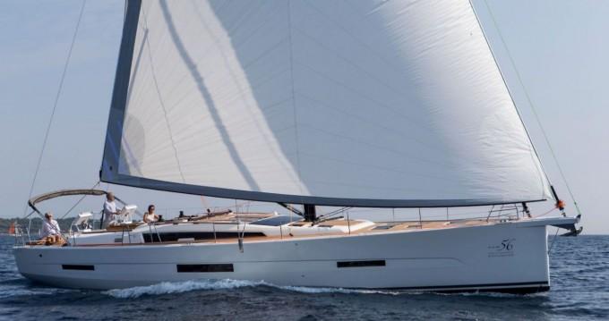 Boat rental Portisco cheap Dufour 56 Exclusive