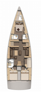 Rental Sailboat in Portisco - Dufour Dufour 56 Exclusive