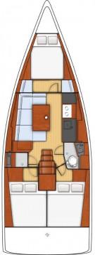 Boat rental Portisco cheap Oceanis 38