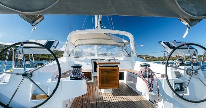 Boat rental Portisco cheap Oceanis 55