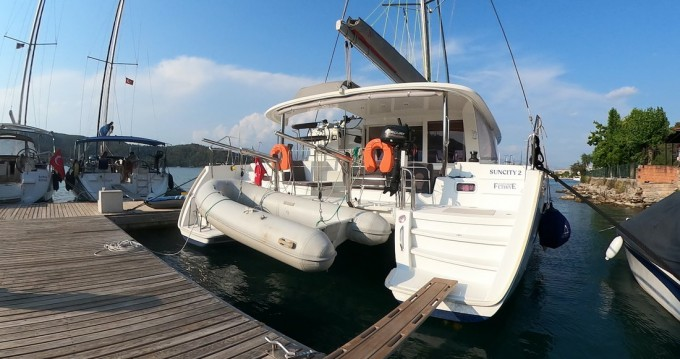 Boat rental Fethiye cheap Lagoon 400 S2