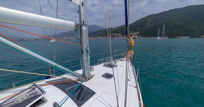 Rental Sailboat in Fethiye - Bénéteau Oceanis 40