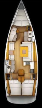 Rental yacht Fethiye - Jeanneau Sun Odyssey 439 on SamBoat