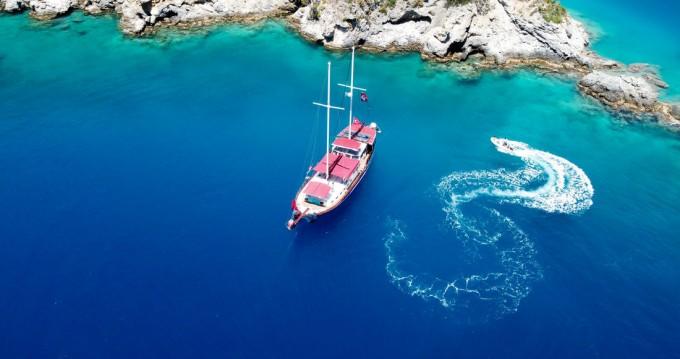 Boat rental Custom Made Pronto Blue in Fethiye on Samboat