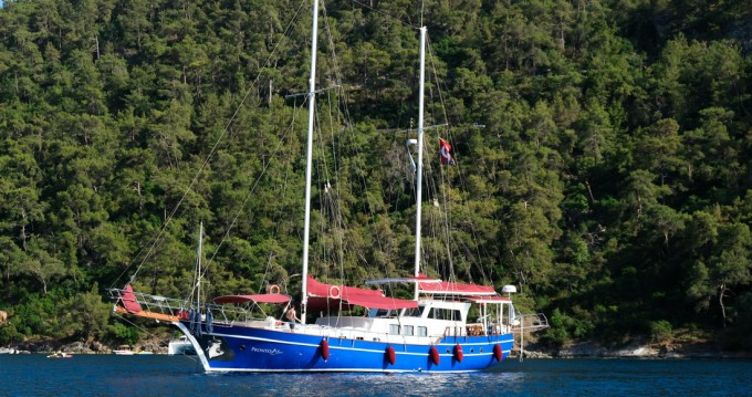Rental Sailboat in Fethiye - Custom Made Pronto Blue
