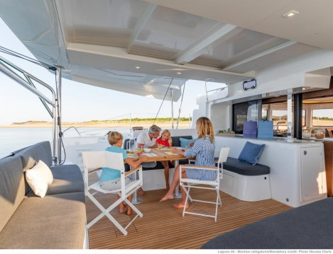 Boat rental Fethiye cheap Lagoon 46