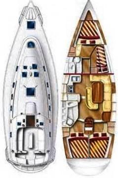 Rental Sailboat in Gouvia - Dufour Gib Sea 43