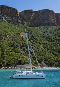 Boat rental Old Port of Marseille cheap Lagoon 450