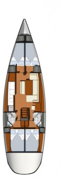 Rental Sailboat in Turkey - Jeanneau Sun Odyssey 44i