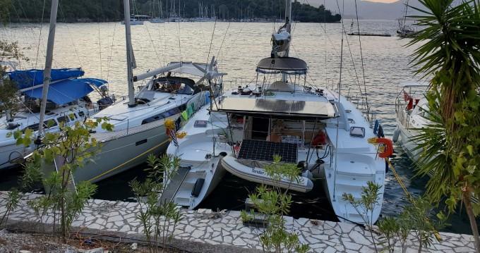 Lagoon Lagoon 440 between personal and professional Lefkas Egremni