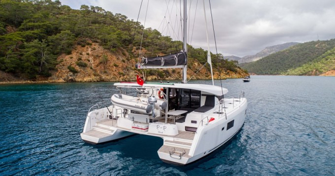Hire Catamaran with or without skipper Lagoon Göcek